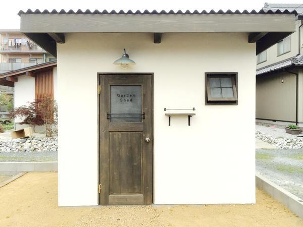シンプルな小屋